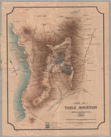 Map of Table Mountain