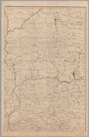 [Map of part of the divisions of Oudtshoorn and Prince Albert]