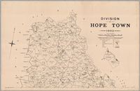 Division of Hope Town--[cartographic material].