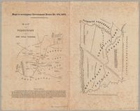 Map of the territory of the Chief Nicolas Waterboer