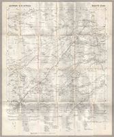 otawi map of german south west africa showing cities towns villages roads railways telegraph lines rivers pans and other features in the region of