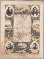 Map of part of central Africa showing the routes of the expedition performed under the sanction of H.M. Government by Messrs Richardson, Barth and Overweg in the years 1851 and 1852
