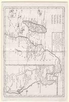 Carte du Canal de Mosambique, contenant l'Isle de Madagascar avec les côtes d'Afrique, depuis le cap de Bonne Espérance jusqu à Melinde