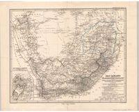 Das Capland nebst den Süd-Afrikanischen Freistaaten und dem Gebiet der Hottentotten & Kaffern
