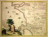 Carta geografica del Capo di Buona Speranza