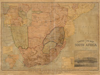The Castle Line map of South Africa--[cartographic material]