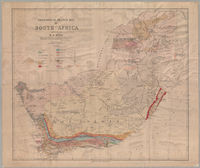 Geological sketch map of South Africa