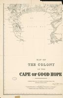 Map of the Colony of the Cape of Good Hope