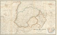 New map, Briton or Boer