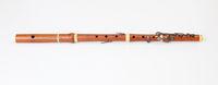 Concert flute with six keys