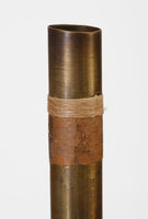 Model of a ma't, an ancient Egyptian end-blown flute