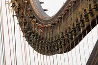 Double action harp