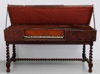 Counterfeit of a 17th century Florentine virginal