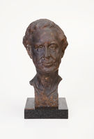 Bronze bust of Professor PR Kirby