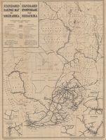 Standard railway map of South Africa = Standaard spoorwegkaart van SuidAfrika