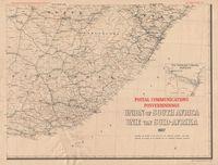 Postal communications : Union of South Africa, 1937 = Posverbindings : Unie van Suid -Afrika, 1937