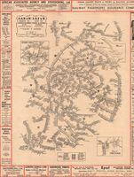 S.A.R & H diagram of stations & sidings showing transhipping stations = Kaart van stasies & sylyne aantonende oorlaaistasies