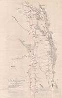 Map of portion of the Malmesbury, Piquetberg and Clanwilliam Districts, to accompany Mr. Hector Shaw's report