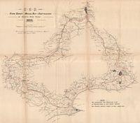 C.G.R. flying survey : Mossel Bay-Oudtshoorn via Gouritz River Gorge, 1896