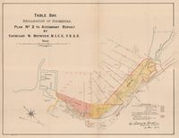 Table Bay : reclamation of Foreshore. Plan No. 2, to accompany report by Cathcart W. Methven