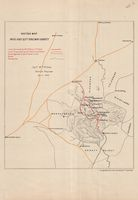 Sketch map : Midland extn. railway survey