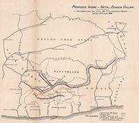 Proposed Indwe-Natal border railway, accompanying the late P. Fletcher's report dated 12th June 1896