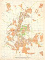 Street map of Bulawayo