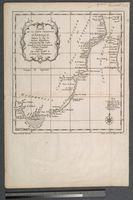 Carte de la Coste Orientale d'Afrique, Depuis le Cap de Bonne Esperance, Jusqu'au Cap del Gada ... Publiee par ordre de Mgr. le Comte de Maurepas