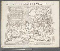 Aphricae Tabula II