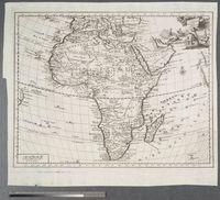 Carta Generale Dell' Africa