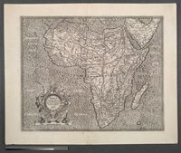Africa. Ex magna orbis terre discriptione Gerardis Mercatoris desumpta
