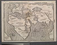 Die eigentliche und warhafftige gestalt der Erden und des Meers: Cosmographica Universalis