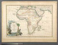 L'Afrique divisee en ses principaux Etats