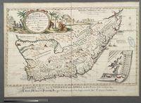 Carta geografica de Africa del Capo de bon Esperanze sino al Regno et Imperio Monamotapo e Ria de la Goa. Scoperto dell' Citadino e Commandante