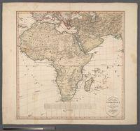 Atlas Des Ganzen Erdkreises in der Central Projection