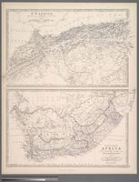 Southern Africa comprising Cape Colony, Natal & c. with Orange River Free States