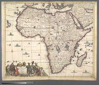 Totius Africae Accuratissima Tabula