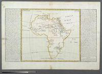 Lacs, Fleuves, Rivieres et Principales Montagnes de L'Afrique