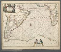 Mar di Aethiopia vulgo Oceanus Aethiopicus