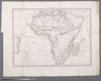 Carta dell' Africa che serve d'illustrazione al nuovo Dizionario Geographico Universale