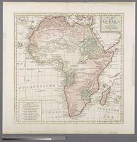 Kaart van Afrika door den Heer d'Anville