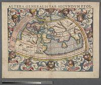 Altera Generalis Tab. Secundum Ptol