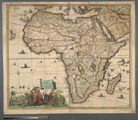 Accuratissima Totius Africae Tabula in Lucem producta