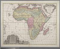 L'Afrique Divisee en ses Empires, Royaumes et Etats Dressees Sur Les Dernieres Observations