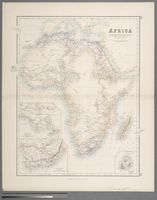 Africa with the discoveries to May 1858 of Livingstone, Barth, Vogel and the Chadda expedition from documents in possession of the Royal Geographical Society