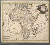 L'Afrique Dressee sur les Observations de Ms. de l'Academie Royale des Sciences et quelques autres sur les Memoires les plus recens