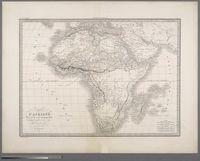 Carte d'Afrique