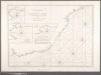 Carte Reduite de la Cote Meridionale d'Afrique, depuis Ia Baye de Saldagne jusqu'au Cap des Courans