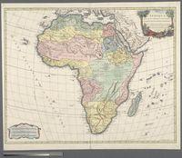 L'Afrique dressee sur les relations le plus recentes, et assujettie aux observations astronomique par ... Geog. du Roy, de Sa M. Polon, Due de Lorraine et de Bar et Associe de l'Academie Royale des Sciences et B. Lettres de Nancy, avec privilege