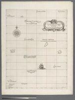 Carta particolare dell mare Oceano fra l'Ierlandia e l'Isole di Asores